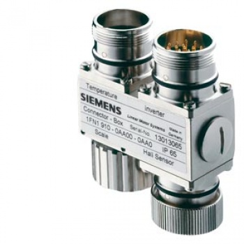 1FN1910-0AA10-0AA0 SIMOTICS L Linear motor connector box for connecting an absolute measuring system, IP65