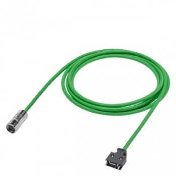 6FX3002-2CT12-1AD0 Signal cable pre-assembled for incremental encoder TTL S-1 3X2X0.2+2X2X0.25C MOTION-CONNECT 300 No UL for connector on the moto