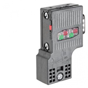 6ES7972-0BA52-0XA0 SIMATIC DP, Connection plug for PROFIBUS up to 12 Mbit/s 90° cable outlet