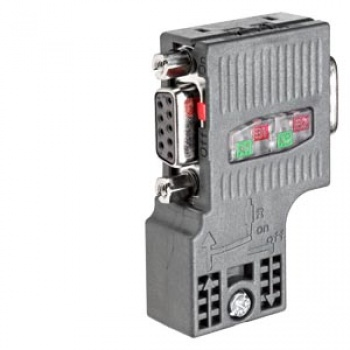 6ES7972-0BB52-0XA0 SIMATIC DP, Connection plug for PROFIBUS up to 12 Mbit/s 90° cable outlet