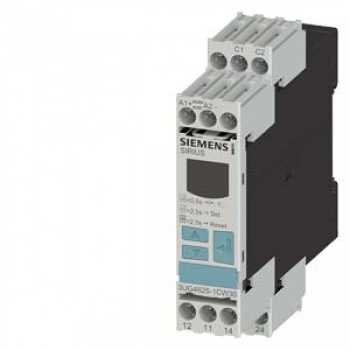 3UG4625-1CW30 Digital monitoring relay for residual current monitoring (with current transformer 3UL23) Setting range 0.03...40 A separate fo