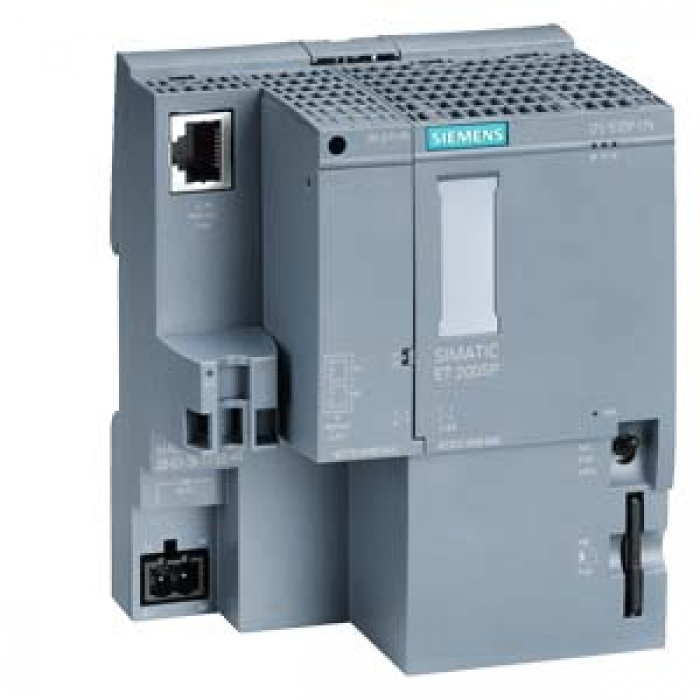 6ES7512-1DK01-0AB0 SIMATIC DP, CPU 1512SP-1 PN for ET 200SP, Central processing unit with Work memory 200 KB for program and 1 MB for data, 1st in